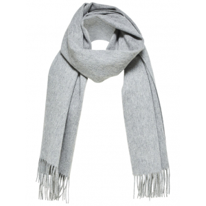 Time Wool Scarf Grey