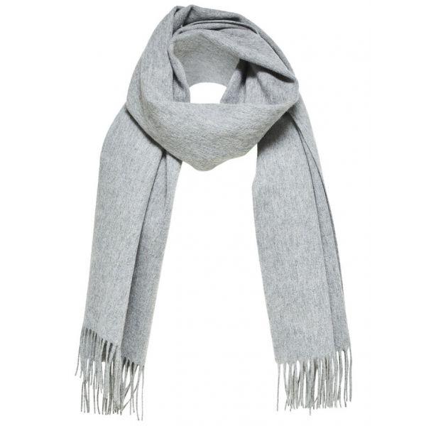 Time Wool Scarf Grey