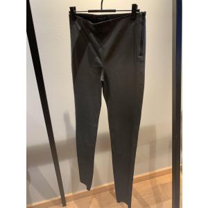 Sylvia Green Leather Legging