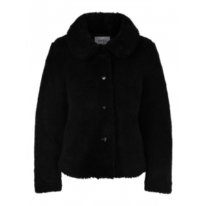 Anna Teddy Jacket Black