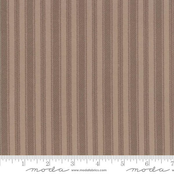 Farmhouse flannels brun stripet