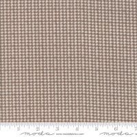 Farmhouse flannels houndstooth brun