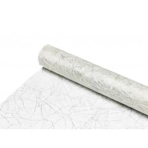 Englevev Sizoweb de Luxe – 30cmx5m – 0014 Sølv