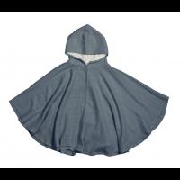 Poncho håndklede BLUE SPRUCE fra Fabelab