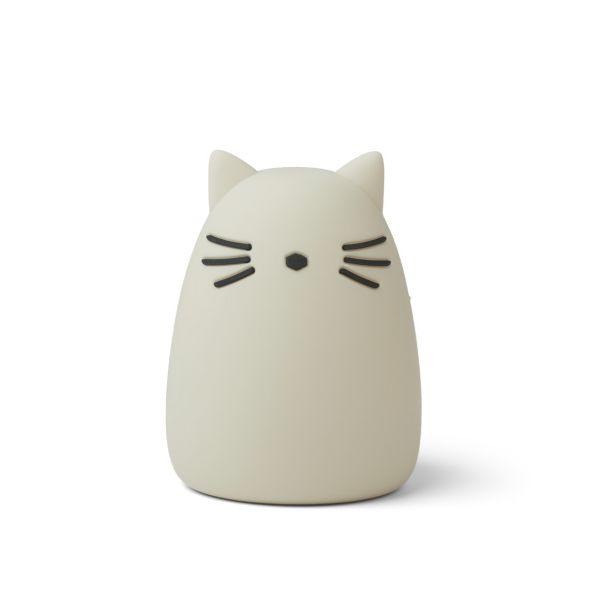LIEWOOD - WINSTON NATTLAMPE CAT SANDY