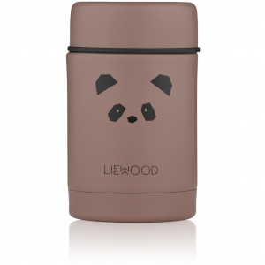 LIEWOOD - NADJA FOOD JAR PANDA DARK ROSE
