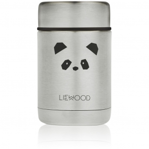 LIEWOOD - NADJA FOOD JAR PANDA STAINLESS STEEL