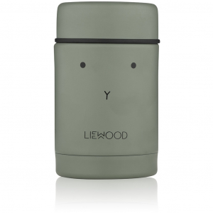 LIEWOOD - NADJA FOOD JAR RABBIT FAUNE GREEN