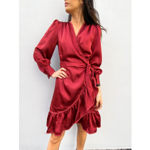 Angela Dress - Red