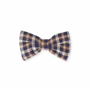 LALABY - HAIR BOW CHECKED FLANNEL