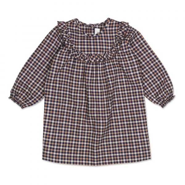 LALABY - NOEY DRESS CHECKED FLANNEL