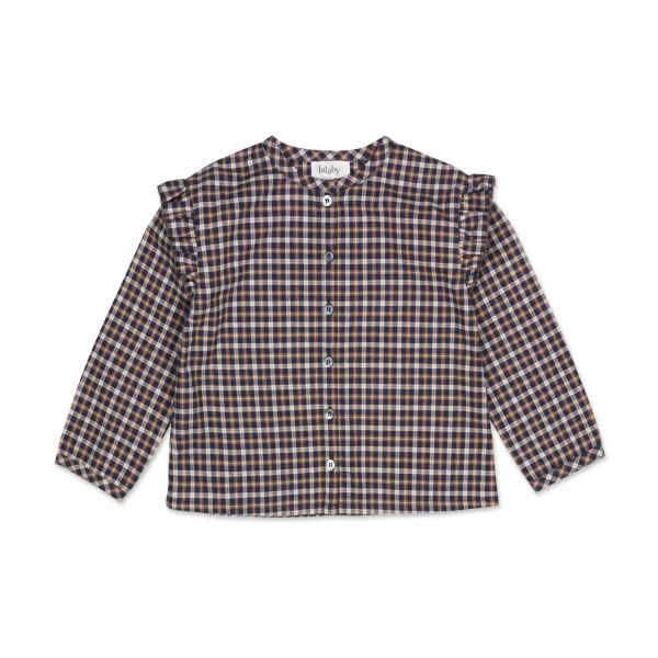 LALABY - ROSE BLOUSE CHECKED FLANNEL