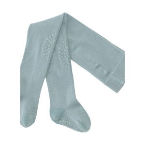GOBABYGO - CRAWLING TIGHTS DUSTY BLUE