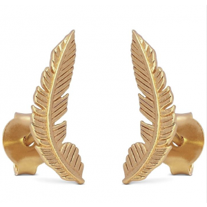 Earring, Birla - gold plated