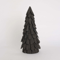 Juletre av trepinner 45cm sort