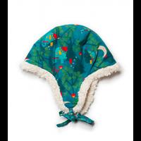 Midnight Jungle Sherpa Hat