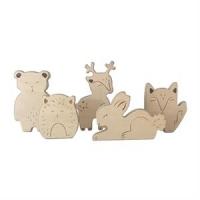 Treleker Wooden animals fra loullou