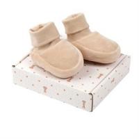 Baby velour boots (tøfler), brune