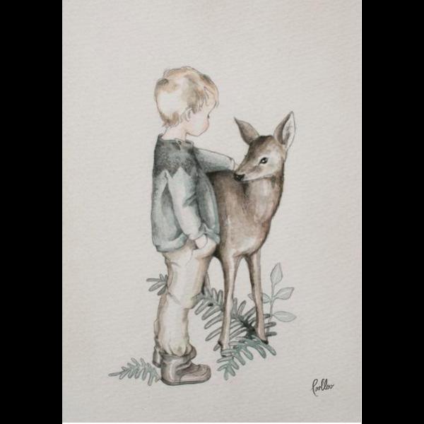 Poster Dearest Deer Loullou
