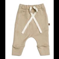 Organic drawstring pants - Dune