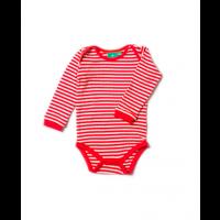 Body rød/hvite striper - Little Green Radicals - Fairtraide