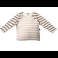 Organic long sleeve - Caramel stripe