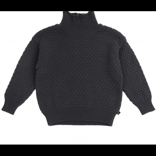 Strikket genser - Grå