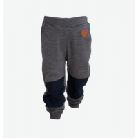 Tufte Kids Wool Fleece Pants - Dark Grey