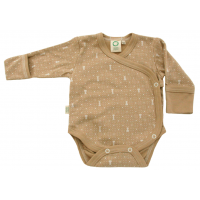 Body from Wooly Organic - brun/beige