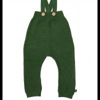 Strikket romper/selebukse - Grønn