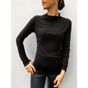 Winela Wool Top - Black