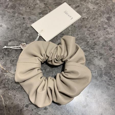 Globa Leather Scrunchie