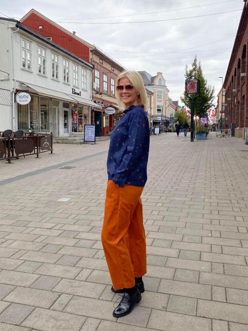 Two Danes Bukser - Elly Karamell