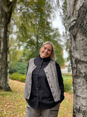 Olars Ulla Skjorte - Ticka Sort