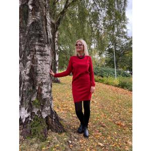 Duodu Kjole Lena - Rød