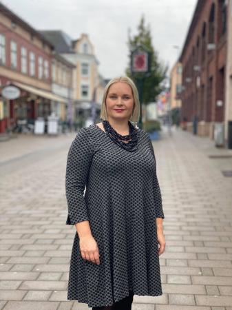 Baldino Kjole - Koksgrå/Sort