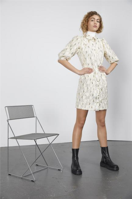 Gomaye kjole m/gull