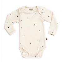 Organic Long Sleeve Bodysuit - Star