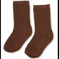 Hisao sock rib decux - Caramel