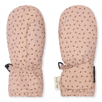 Baby snow gloves - Tiny clover rose