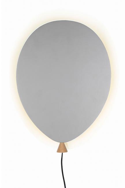 Globen Lampe - Ballong Grå