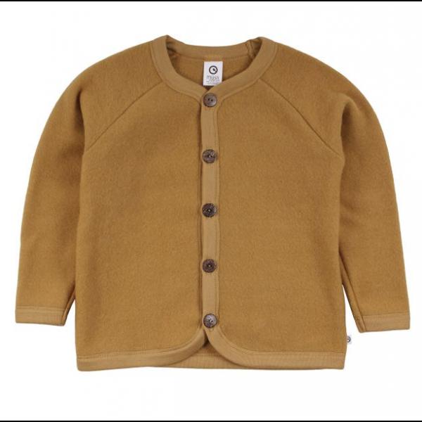 Woolly fleece jacket - Wood