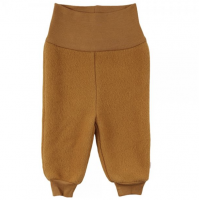 Wooly fleece pants - Wood