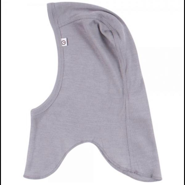 Woolly silk hat - shark/grey