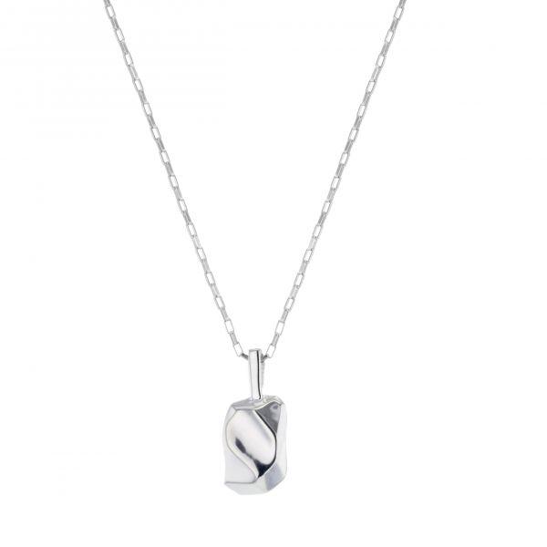 Hasla Elements Cézanne halskjede, sølv