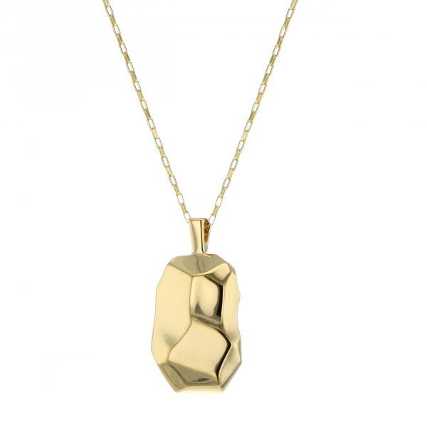 Hasla Elements Braque halskjede, gull