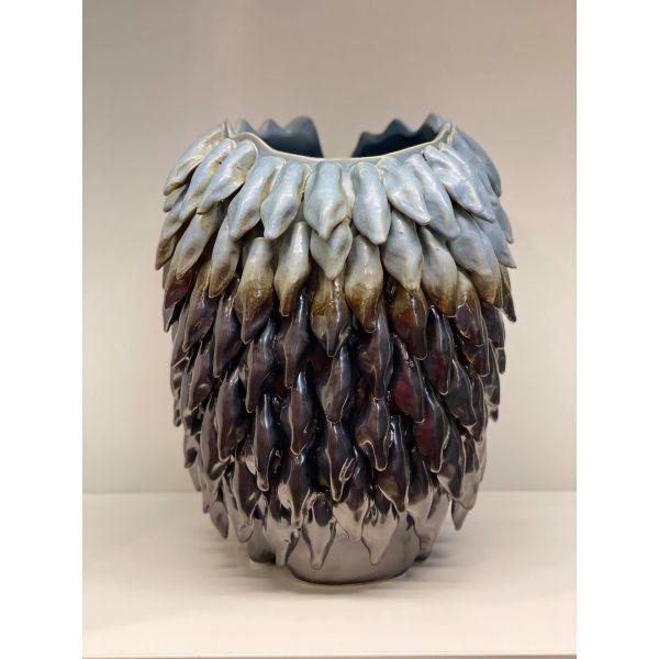 Vase - Sort/Blå