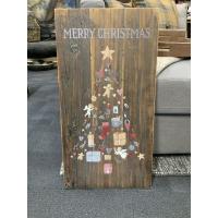Skilt merry Christmas tree