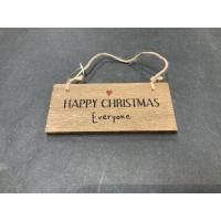 Skilt happy Christmas