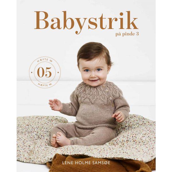 Babystrikk på pinne 3